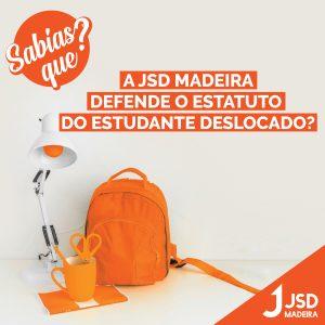 A JSD Madeira defende o estatuto do estudante deslocado